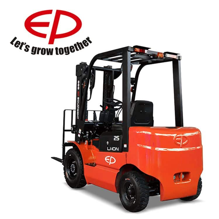 2.5 ton EP forklift electric EFL252 4050mm mast height for logistics sale