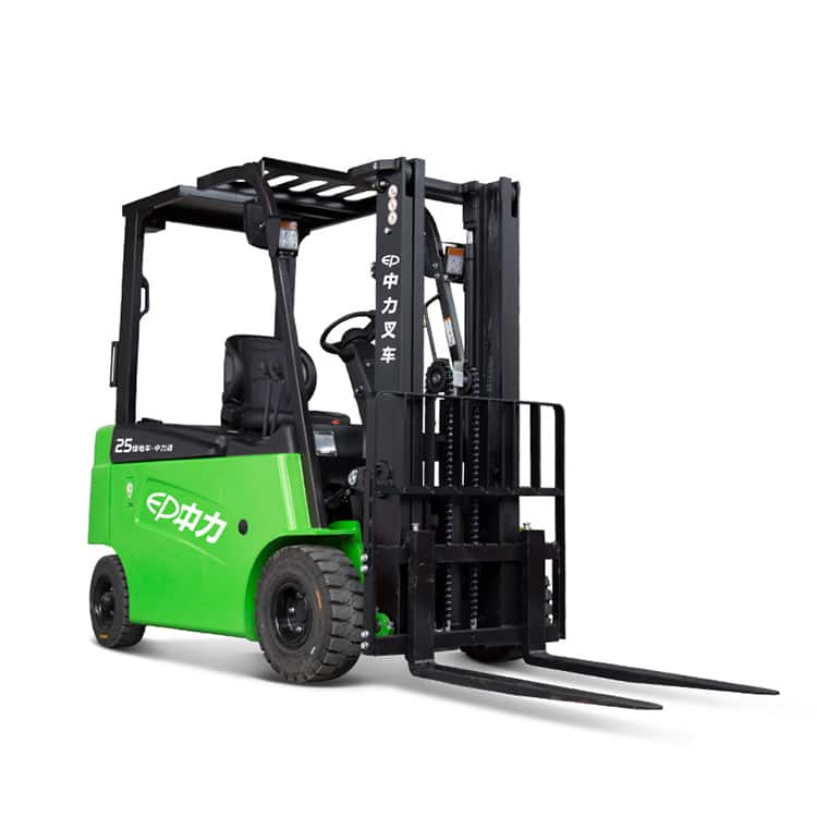 EP forklift lithium battery CPD25L2 2.5 ton capacity 4070mm mast height price