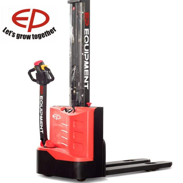 EP electric stacker with mono mast ES12-12MM 1.2 ton for small warehouses price