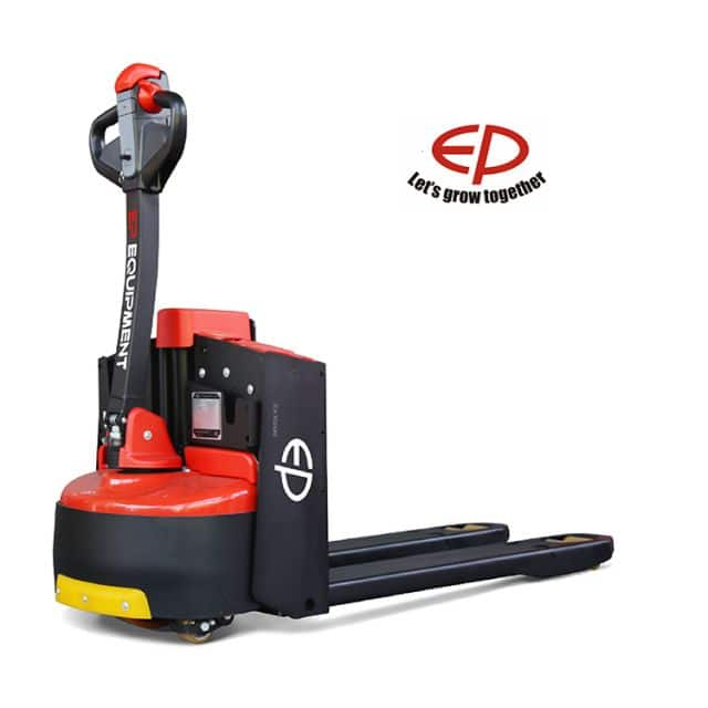 Pallet truck EP WPL201 shortest 2 ton with lithium battery for narrow aisles sale