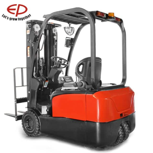 EP small three-wheeled electric forklift with Lithium battery 1.5 ton price