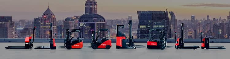 EP counterbalance electric forklift 3.5 ton 4m lift height with 4 wheel price