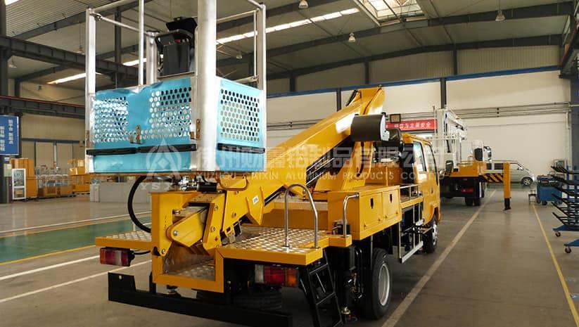 Caixin Aluminum alloy aerial work platform