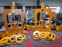 forklift solid tire press machine 120t 160t 200t 250t