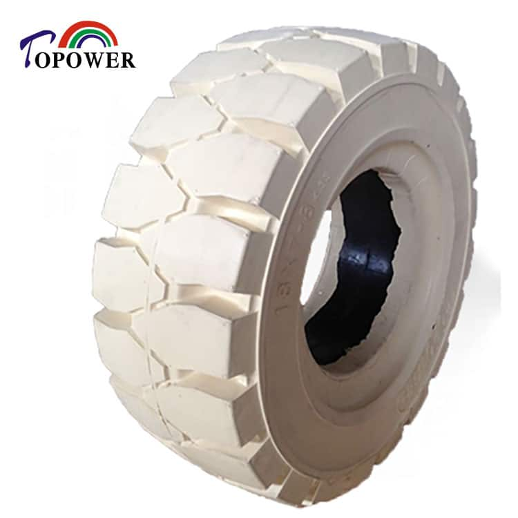 non marking industrial vehicles solid rubber tire 18x7-8 21x8-9
