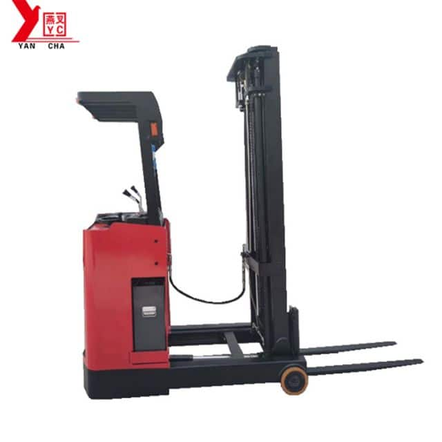 Reach stacker YANCHA battery stacker 1.5 ton with CE 3.5m lift height for sale