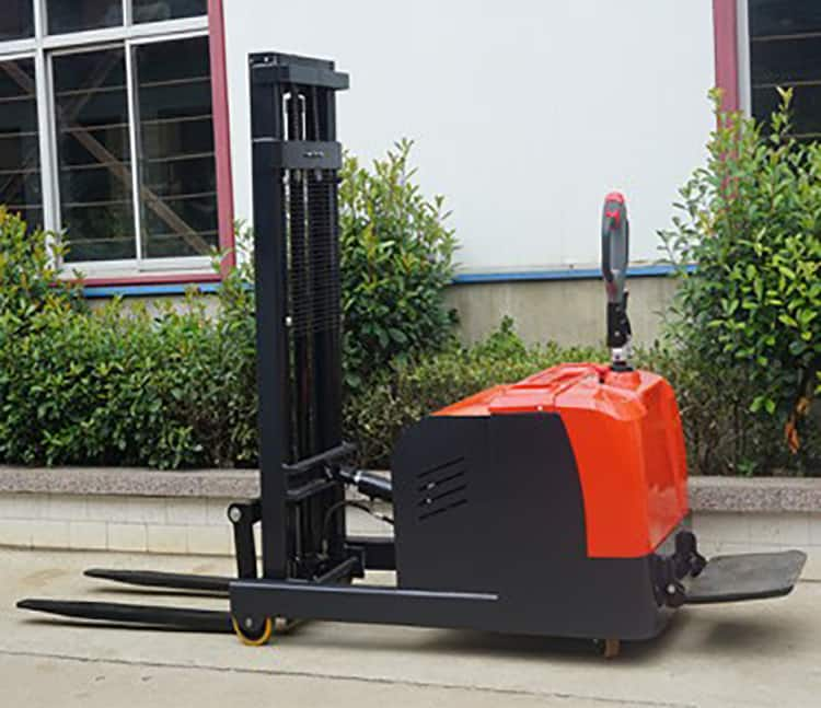 YANCHA stand electric forklift 1 ton 2 ton with CE price