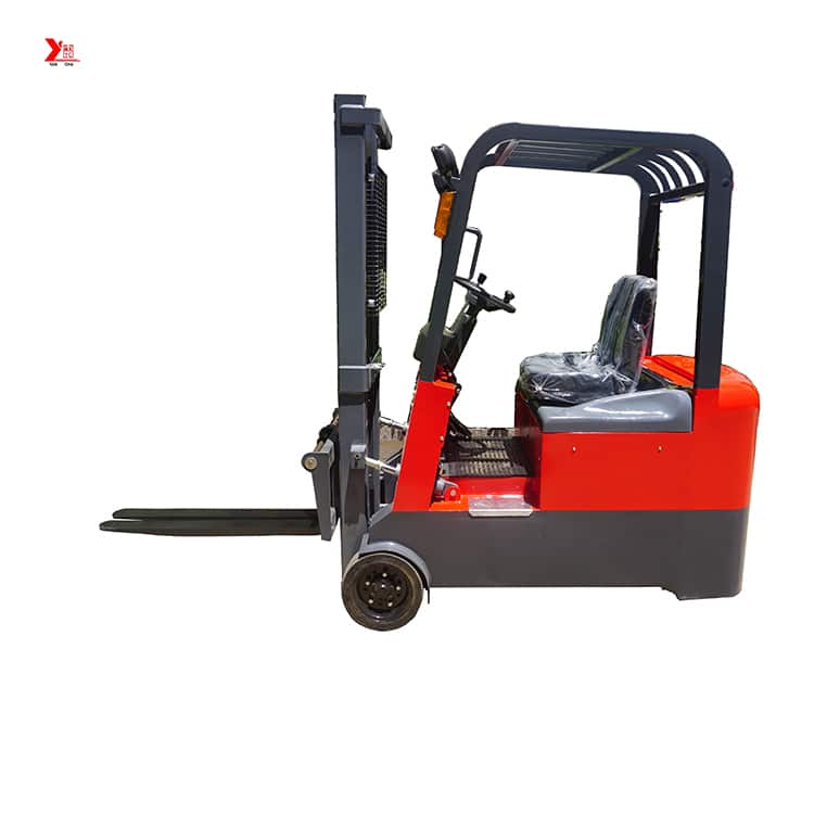 China YANCHA three wheel electric forklift 1 ton 2 ton with CE price