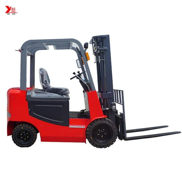 China YANCHA 3 ton forklift CPD3030 48V battery for containers price