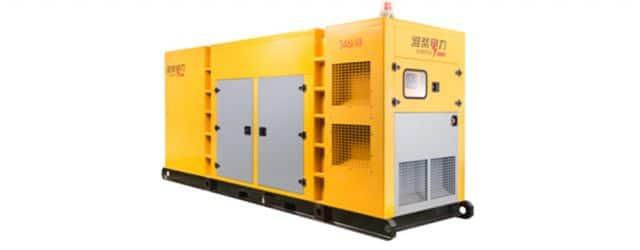 WEICHAI 33KVA-1375KVA Gas Generating Unit