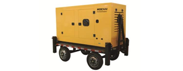 WEICHAI 55 KVA-687.5 KVA Mobile Power Station
