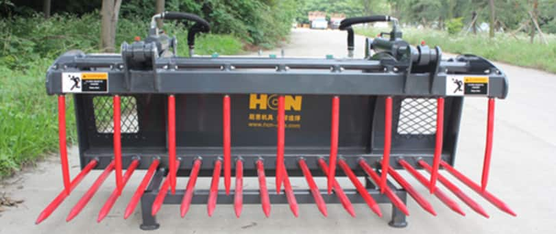 HCN Skid steer Loader Attachments Garden Agricultural Attachments Industrial Logistics Attachments
