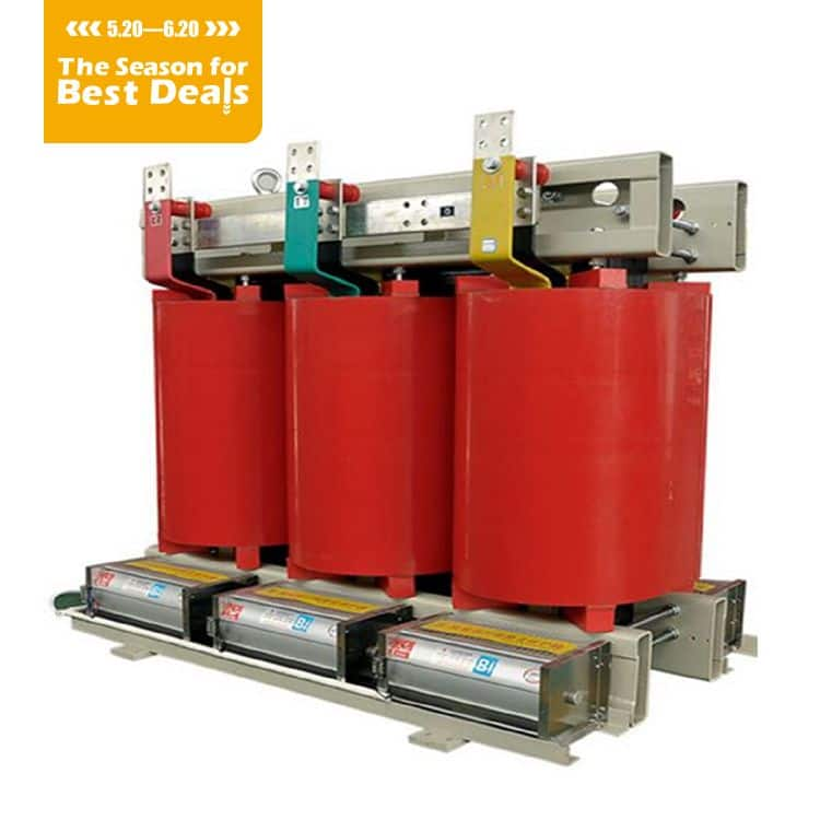 SC(B)10/11/12/13 Three-phase resin-insulated solid-cast power transformer