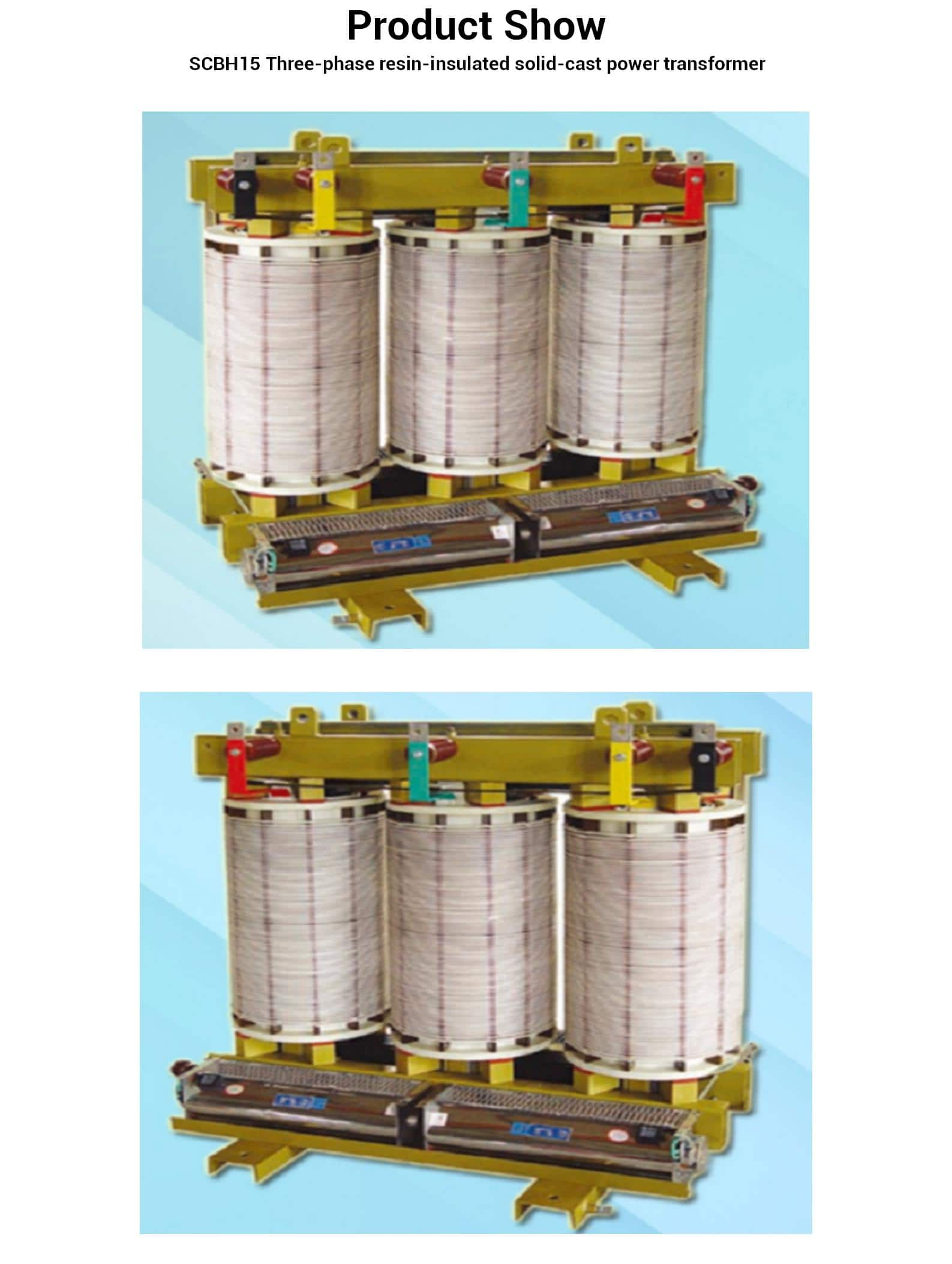 SG(B)10 /15Three-phase resin-insulated solid-cast power transformer