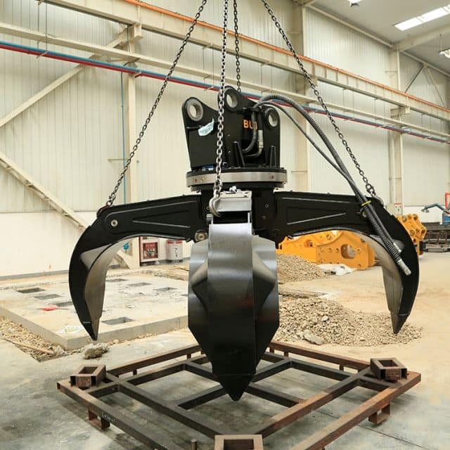 Lotus grab bucket for 17 ton excavator BUT LSW015 accessory price
