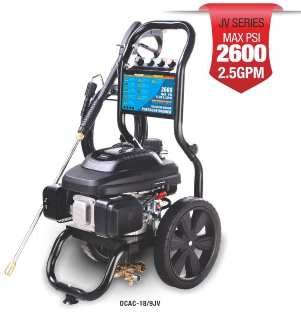 High Cosumer Cold Water Gas Pressure Washer