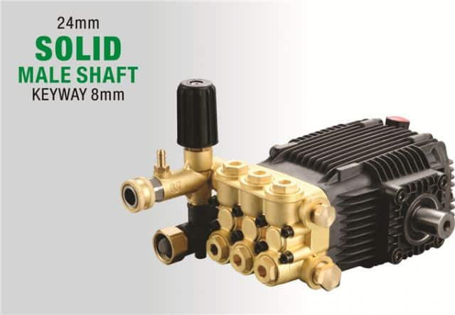 Commercial High Pressure Pump B type Solid Male Shaft