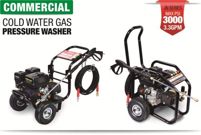 Commercial Cold Water Gas Pressure Washer