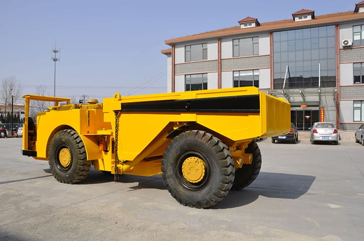 Fambition underground mining dump truck FT12 12 ton truck price
