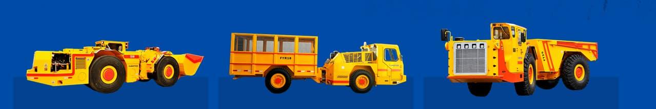 Dump truck for underground mining FT30