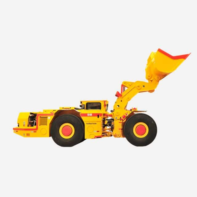 China fambition underground mining loader FL10 4 cubic meters capacity for sale