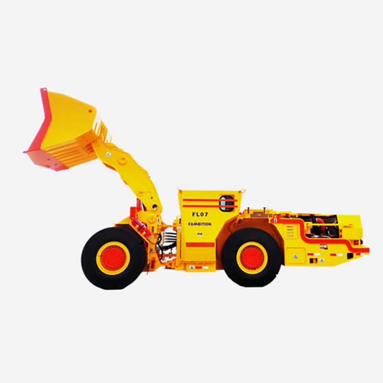 China Fambition 7 ton underground loader FL07 for mining price