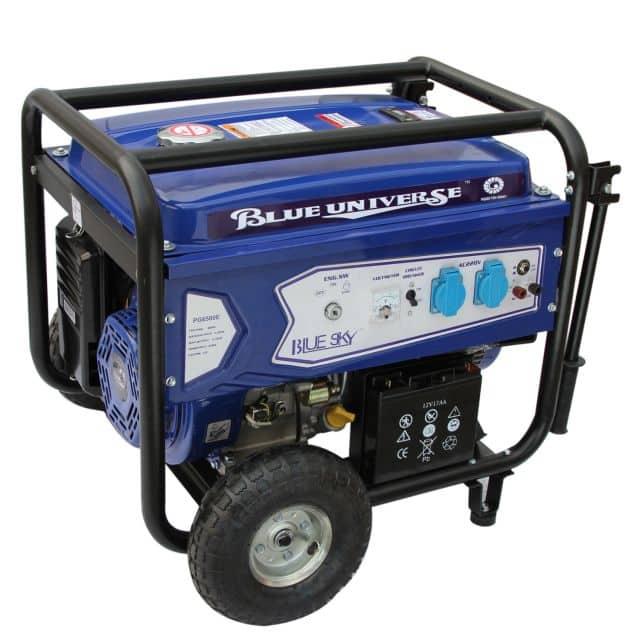 Powerful Gasoline Generator PG6500BL