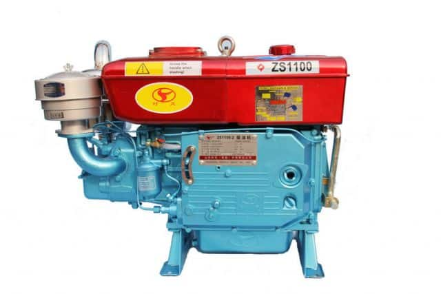 diesel engine single cylinder