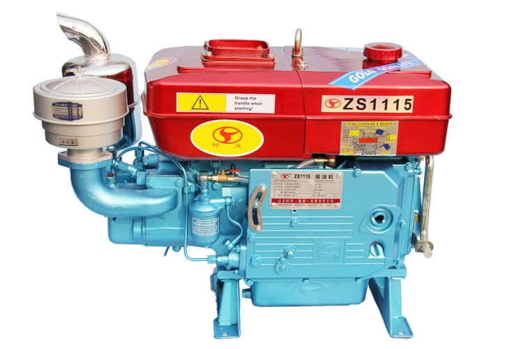 DIESEL ENGINE ,SINGLE CYLINDER