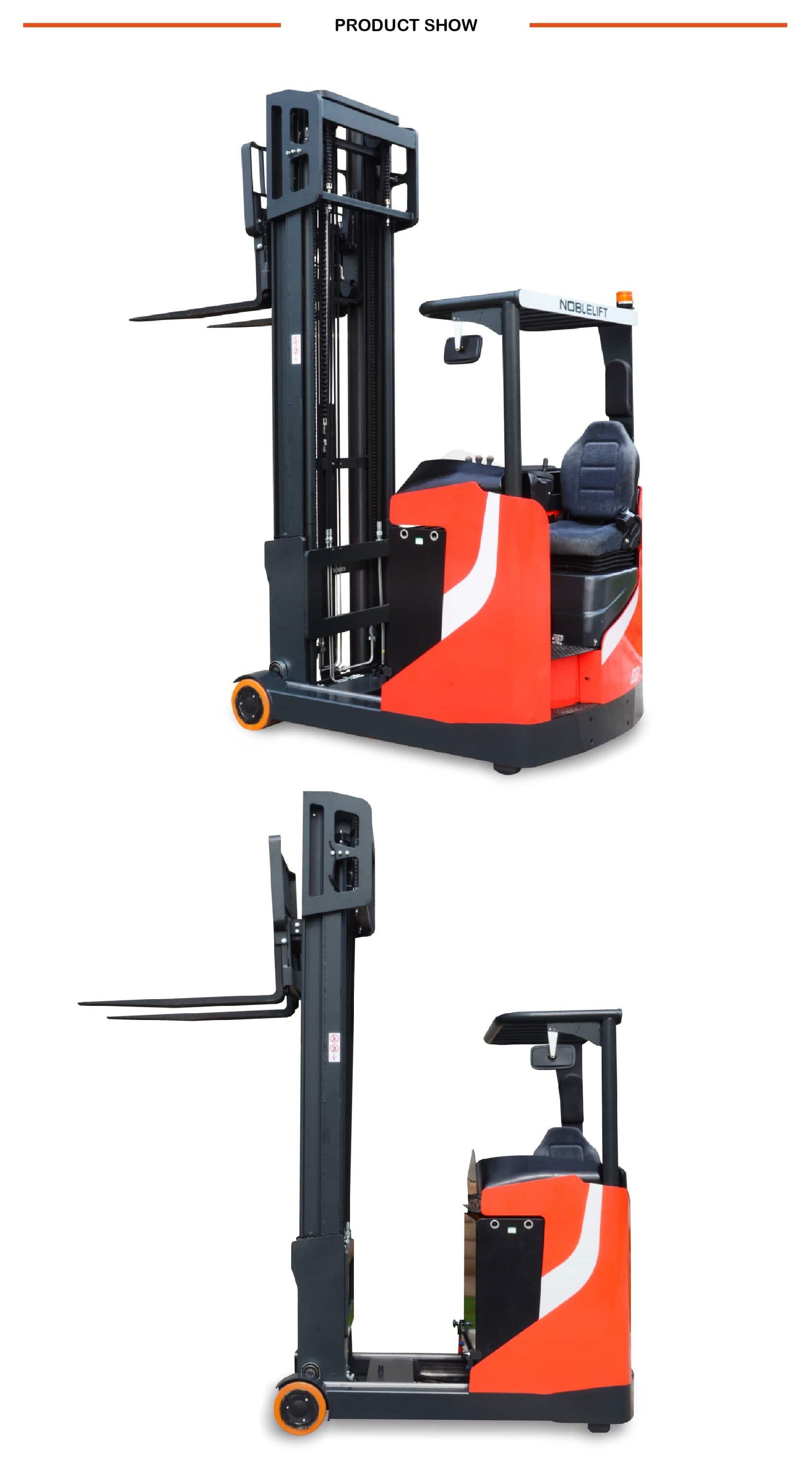 NOBLELIFT RT Series Reach Truck  RT16N