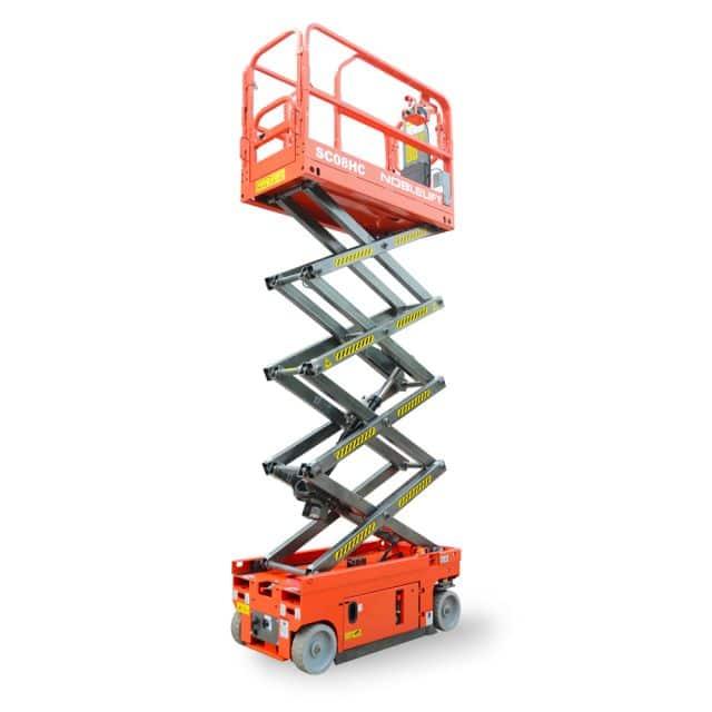 NOBLELIFT Official 8-10m  Scissor Lift  SC08EC/HC SC08EN/HN SC10EN/HN