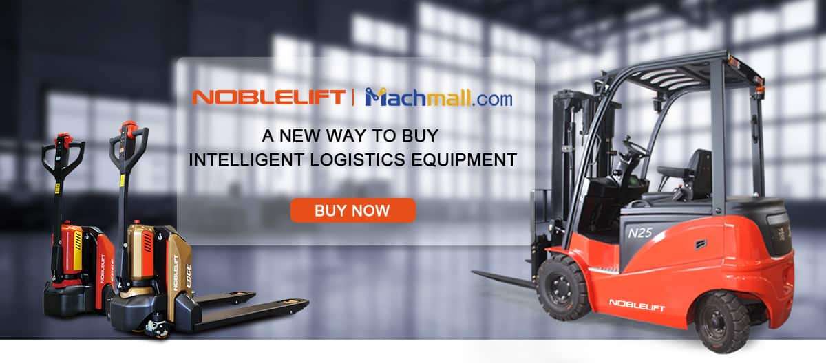 NOBLELIFT Walking Lithium Electric Pallet Truck PTE20N