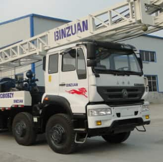 BZC600BZY truck mounted drilling rig