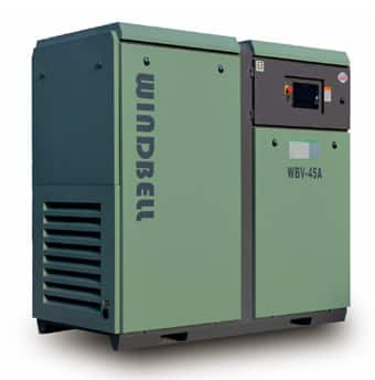 Windbell WBV-45A permanent magnet variable frequency air compressor