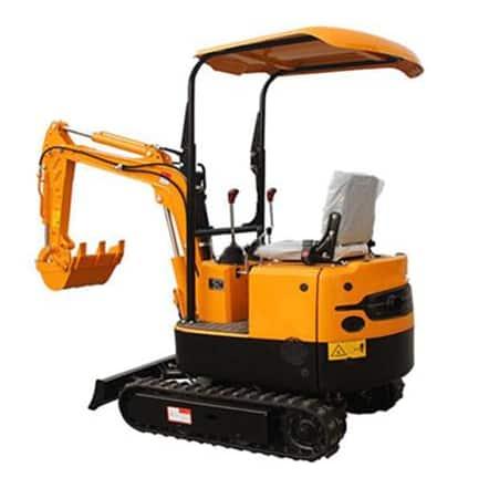 1T mini excavator
