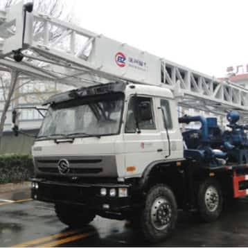 BZCLY400CCA truck mounted drilling rig