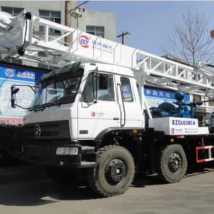 BZC400BCA truck mounted drilling rig