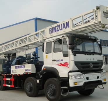 BZC400ABC truck mounted drilling rig