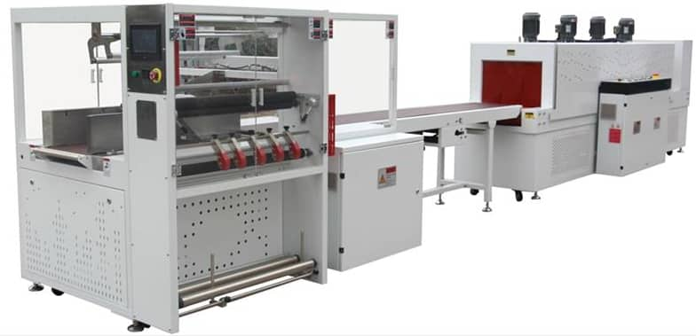 Bottom Overlap Type Sealing & Shrink Wrapping Machine