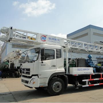 BZC300CDF Truck mounted water well drilling machine
