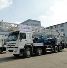 BZC600CHW Truck mounted water well drilling rig