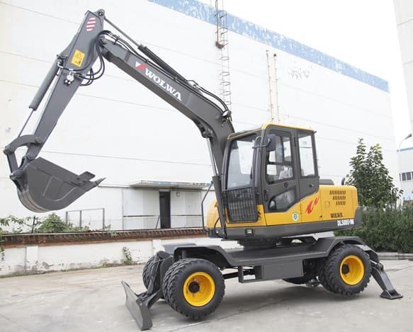 DLS885-9M wheel excavator