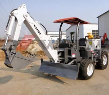 DLS818-9A agricultural wheel excavator