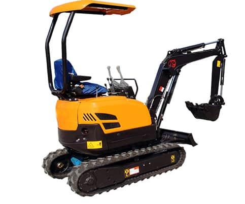 16 mini excavator