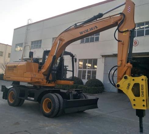 DLS150-9A BIG WEIGHT WHEEL EXCAVATOR