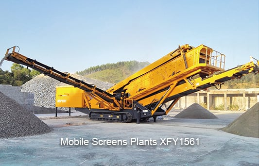 XCMG official manufacturer XFY1561 Mobile Screens Plants for sale